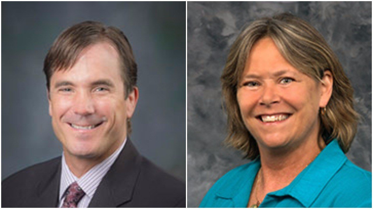 Nick Lyon (L), Dr. Eden Wells (R) (Source: Source: Michigan Department of Health & Human Services)