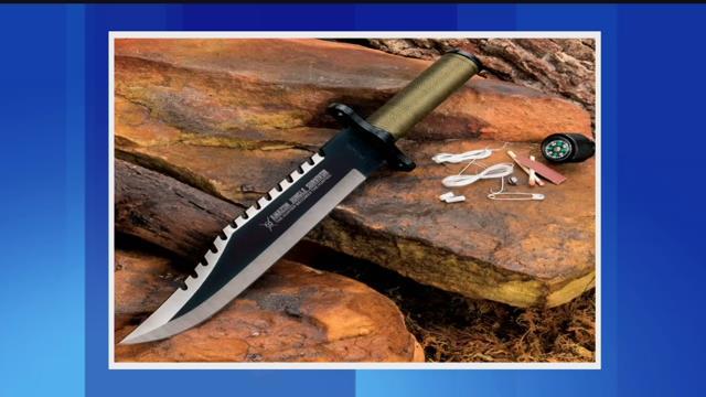 Amazon Jungle Survival Knife