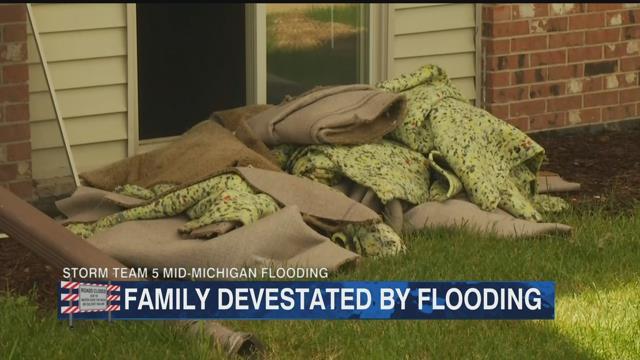 Flood waters leave devastation in Isabella County