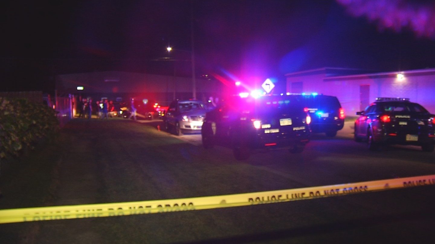 Scene from shooting in Saginaw (Source: WNEM)