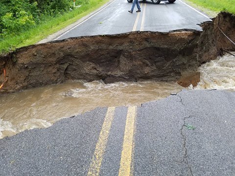 Freemand Road in Beaverton, Gladwin County (Courtesy Steven Smith)