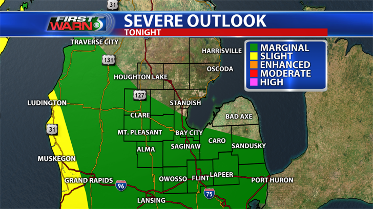 Flash flood watch through 10 am, more severe weather possible later Wednesday