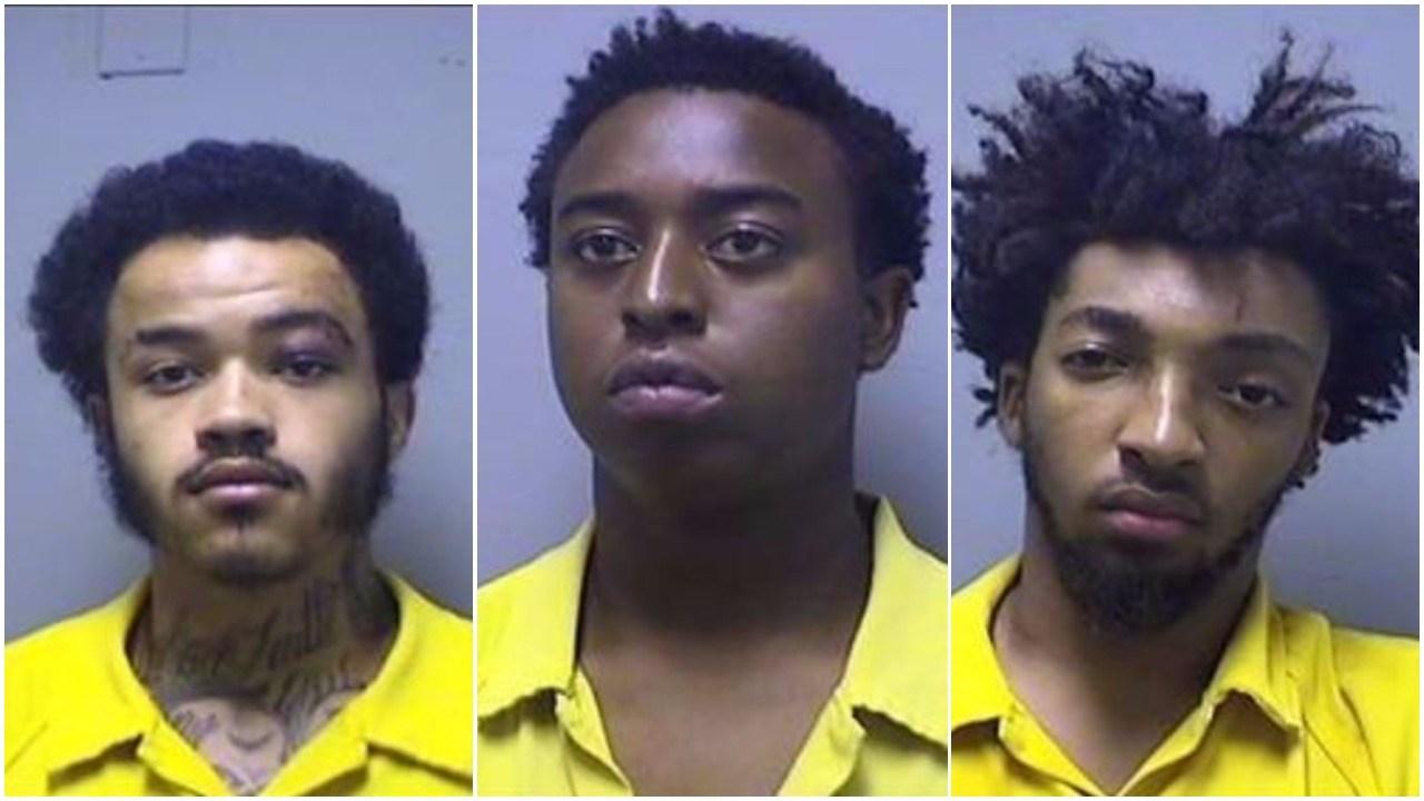 Left to right: Jordan Alexander, Tyler Pagel, Joshua Eubanks