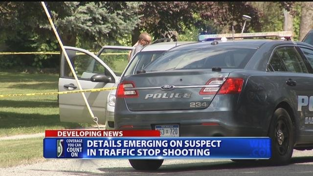Details emerging on suspect in traffic stop shooting