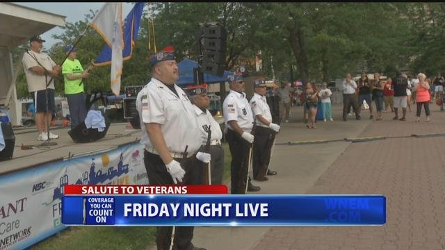 Friday Night Live gives salute to veterans