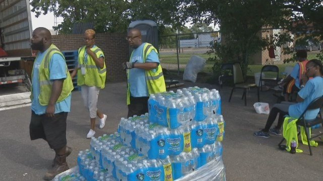 Video: Flint losing free bottled water to non-residents