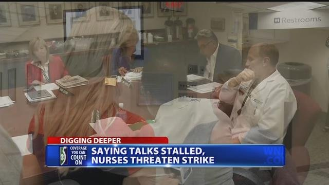 Nurses ready to strike if company doesn't bargain for new contract