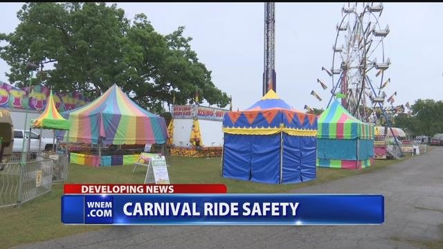 Video: Mid-Michigan fairs focus on carnival ride safety after Ohio accident