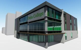 Delta College Saginaw Center (Source: Delta College)