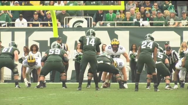Spartan football team counting on Lewerke to step up