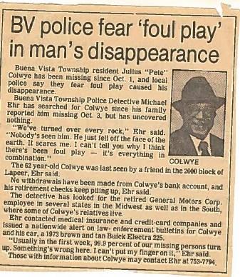 (Source: Buena Vista Police Department)