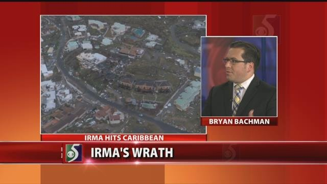 Chief Meteorologist Bryan Bachman breaks down Irma
