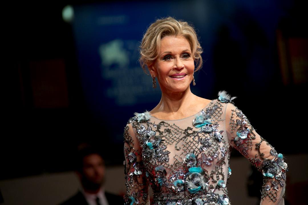 Jane Fonda (Source: Associated Press, Sept. 1, 2017)