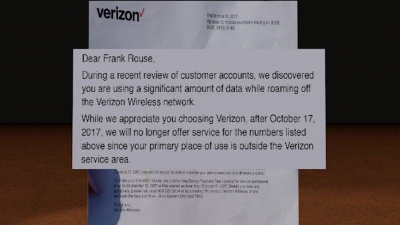 Verizon Ditches Vassar Familys Phone Service For Excessive Roam