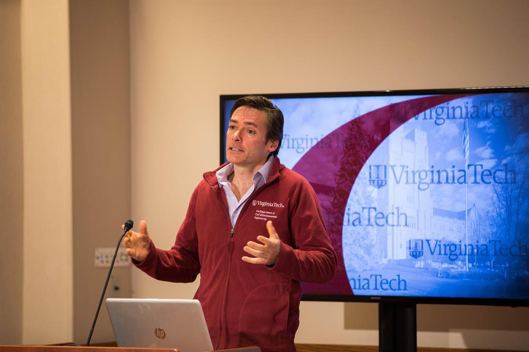 Marc Edwards (Source: Virginia Tech)