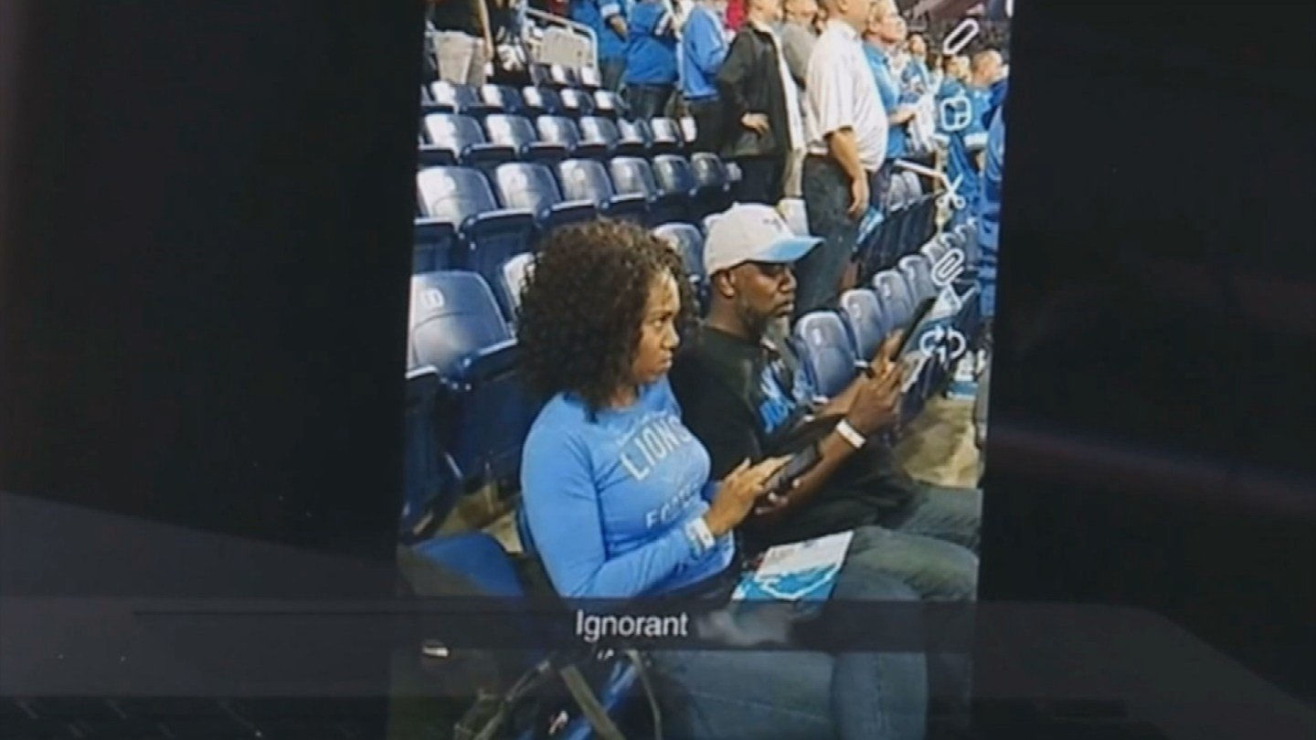 Lions release statement after report of racial slur by fan