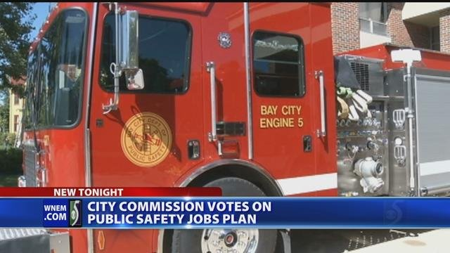 Video: Bay City considers cutting costs with firefighters, police