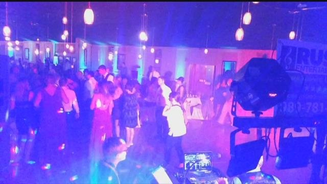 Video: Local DJ helps save wedding guest