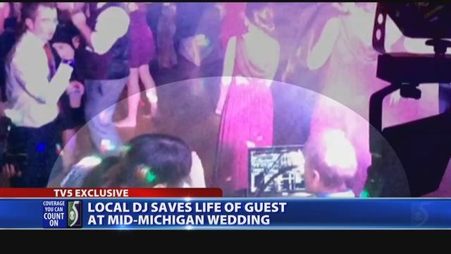 EXCLUSIVE: Local DJ helps save wedding guest