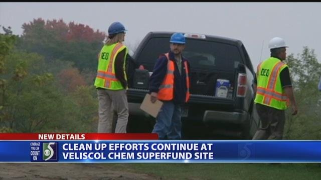 Video: Cleanup of former St. Louis chemical plant site continues