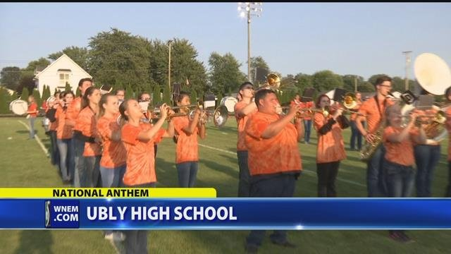 National Anthem with Ubly High School