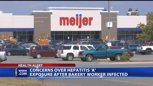 Video: Meijer bakery worker diagnosed with hepatitis A