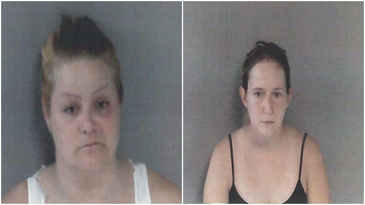 Shannon Bergmann (left) and Victoria Williams (Source: Gladwin County Sheriff's Office