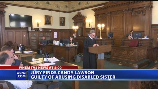 Video: Woman accused of locking disabled sister in closet found guilty
