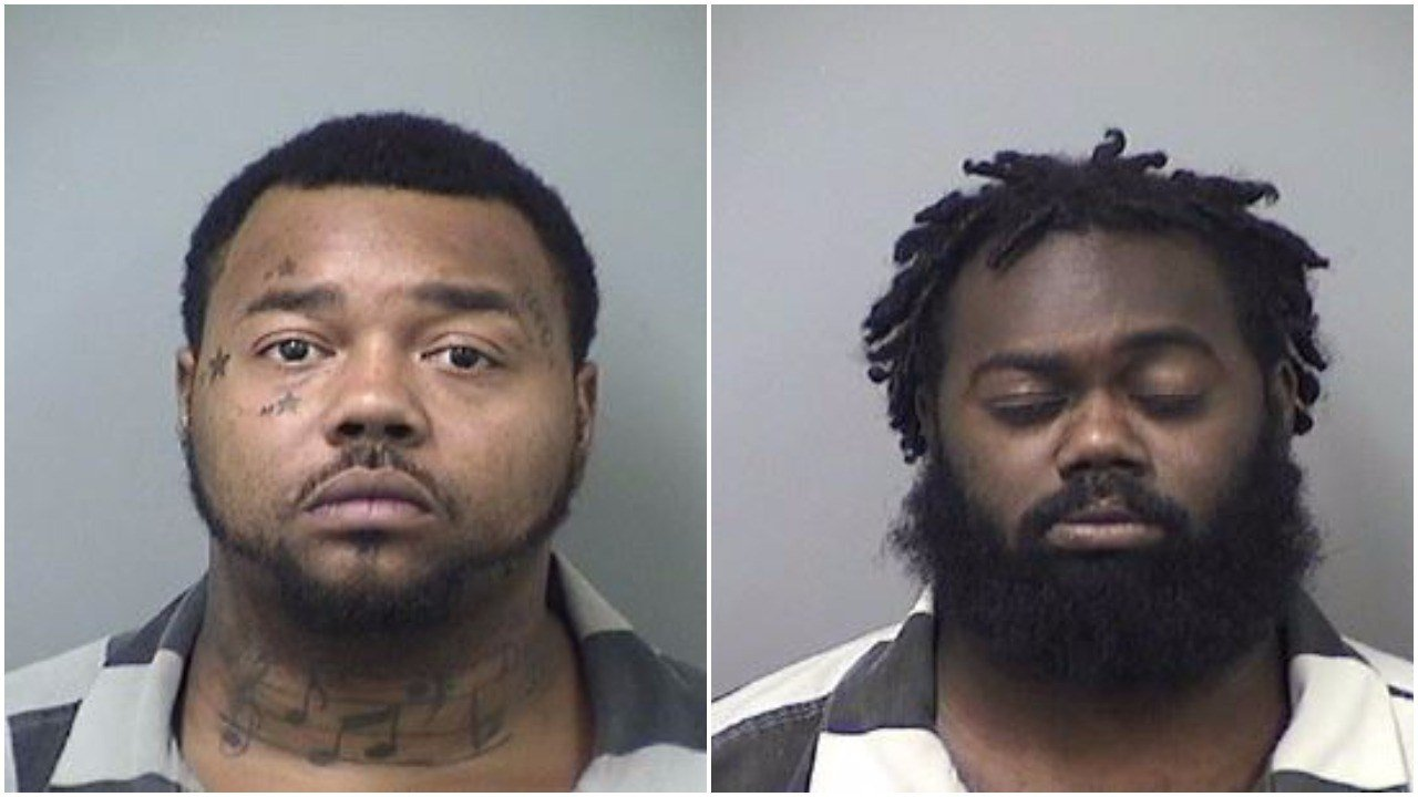 John Deberry (left) and Zederick Deberry (right). Source: Saginaw County Jail