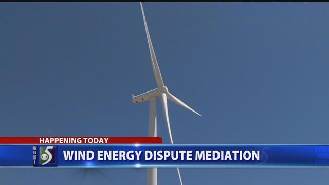 Wind energy dispute mediation