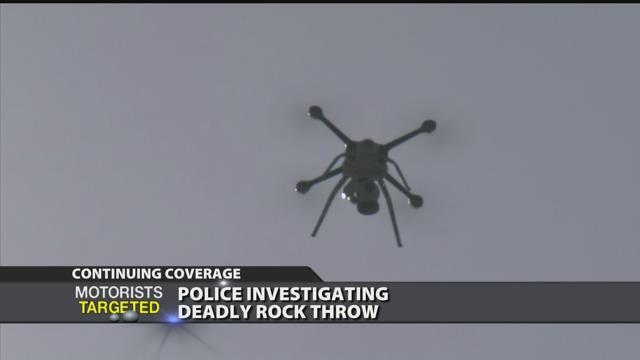 Video - Report: Several teens in custody after rock kills man on I-75