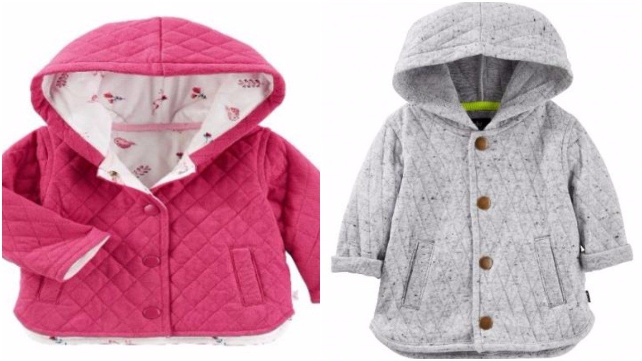 OshKosh recalls 38K Baby B'gosh jackets due to choking hazard