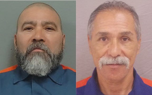 Edward Guerrero (left) and Martin Vargas (right)