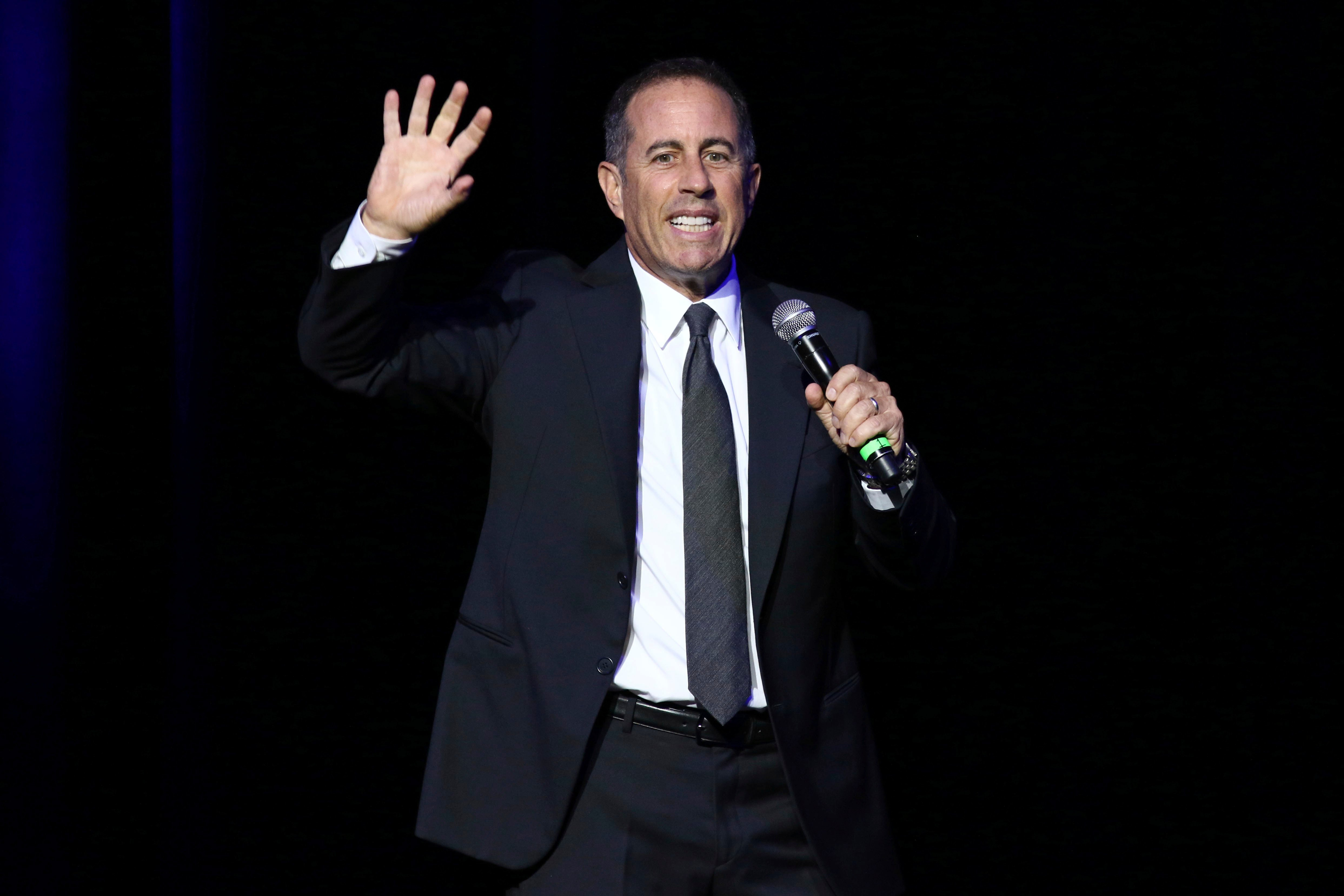 Jerry Seinfeld (Source: Associated Press: Nov. 1, 2016)