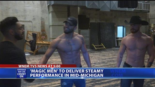 Magic Men to deliver steamy performance in Mid-Michigan