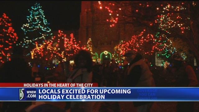 Video: Volunteers prepare for holiday event in downtown Saginaw