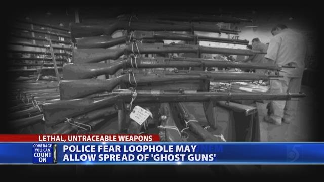 Video: Police fear loophole may allow spread of 'ghost guns'
