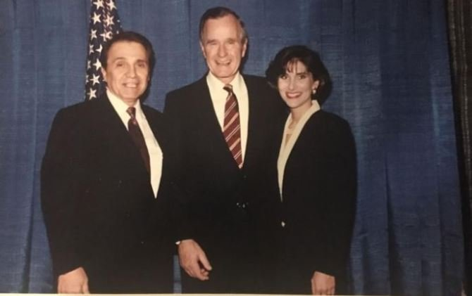 George HW Bush accused of groping Michigan woman while he was president