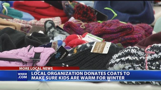 Video: Organization gives winter coats to kids who need it
