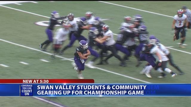 Video: Saginaw Swan Valley football team advances to state finals for first time