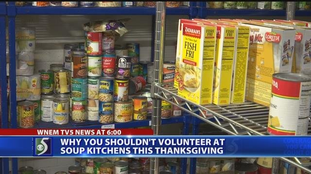 Video: Soup kitchens to volunteers: Stay home this Thanksgiving