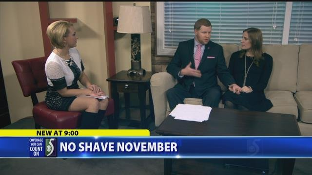 No Shave November, Jason getting hairy for a good cause