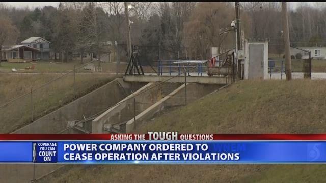 Video: Power company ordered to cease operation after violations