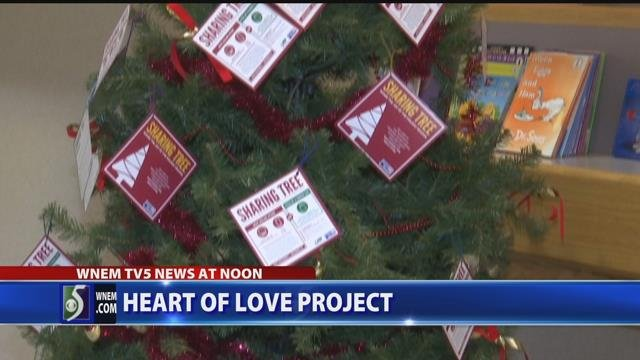 Video: 'Hearts of Love' project helps children grieve