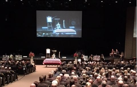 Funeral held for deputy killed in police pursuit