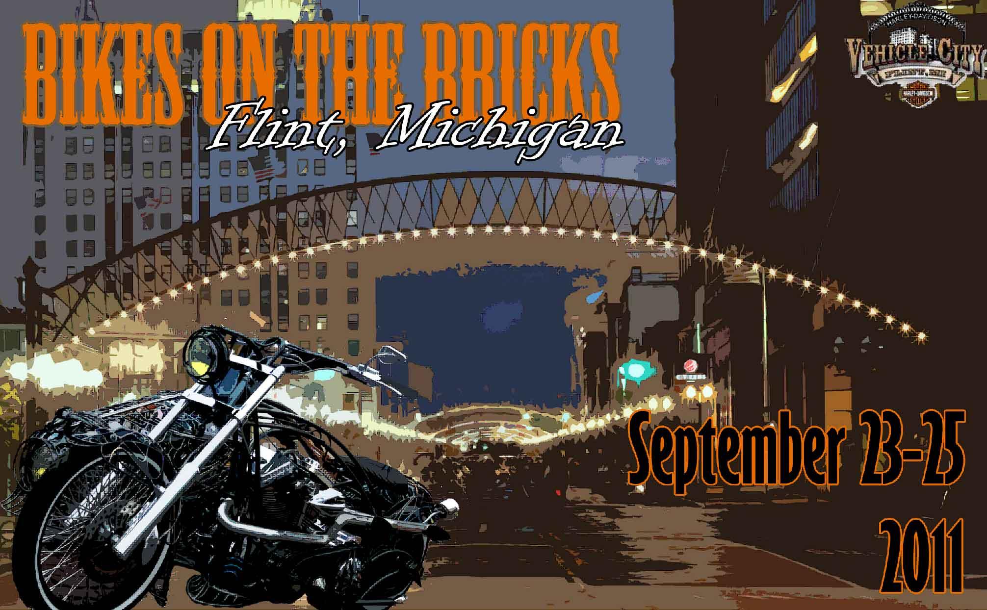 Bikes On The Bricks 2013 Flint FLINT MI WNEM