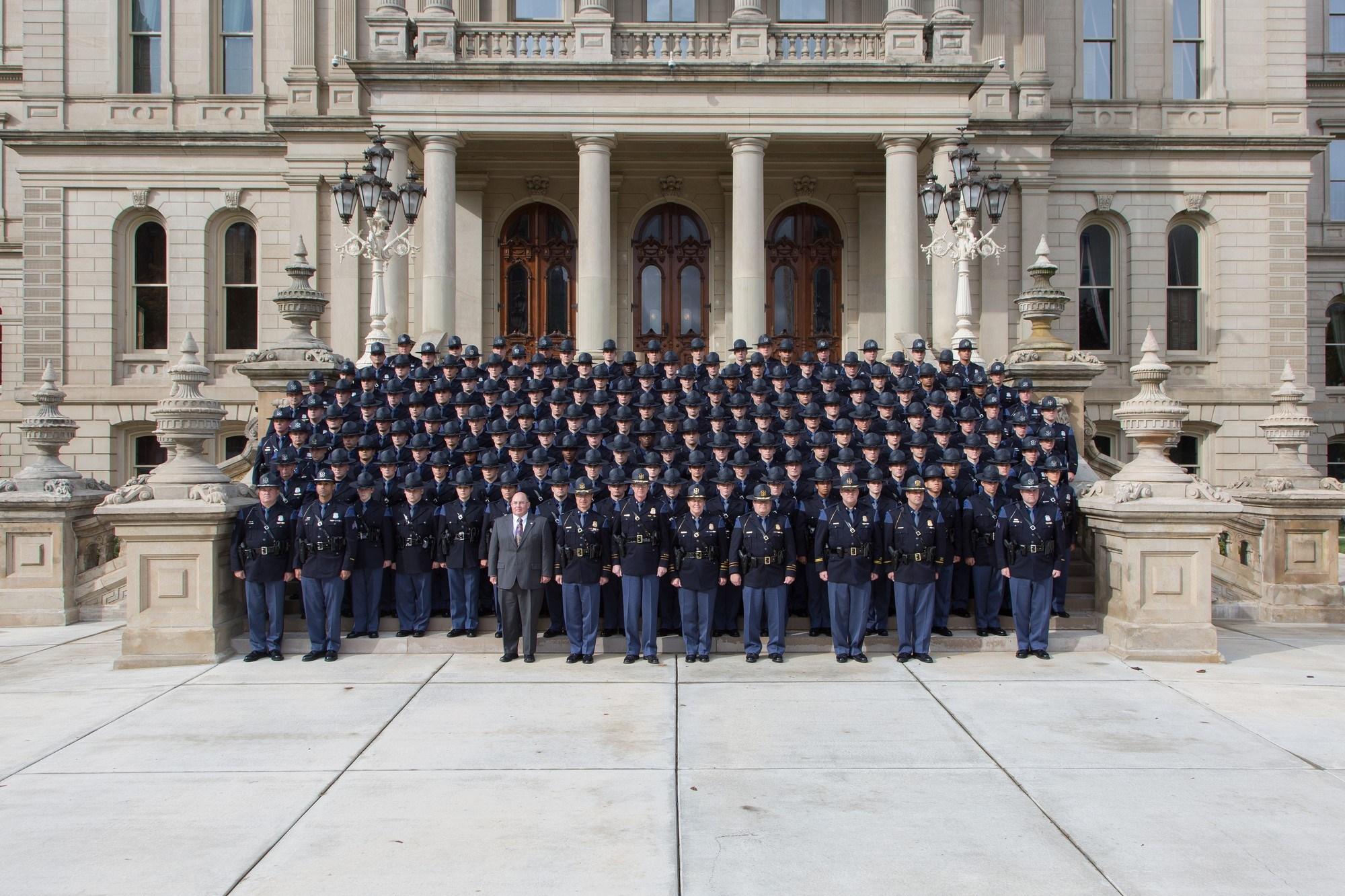 133rd Trooper Recruit School (Source: Michigan State Police)