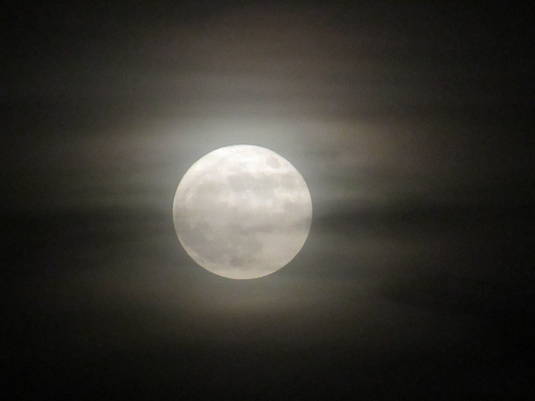 The best of the brilliant supermoon over Kamloops last night