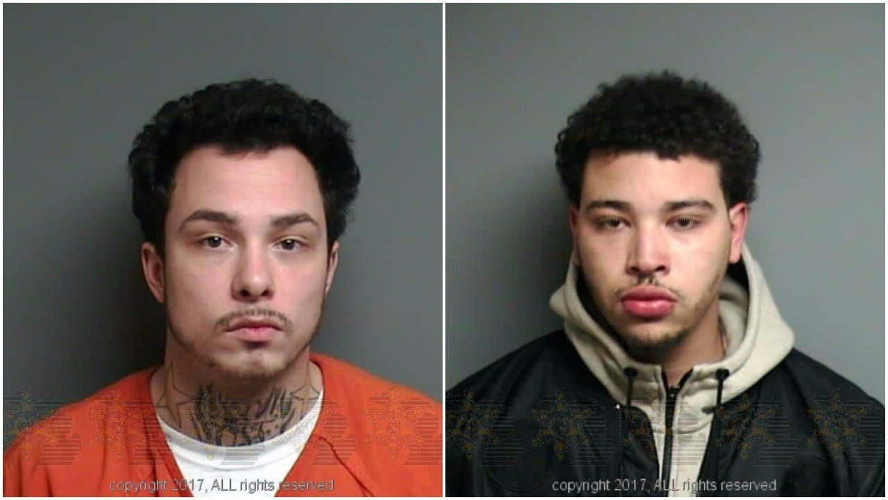 Joseph McGough (left) and Robert Standfield (Source: Macomb County Jail)