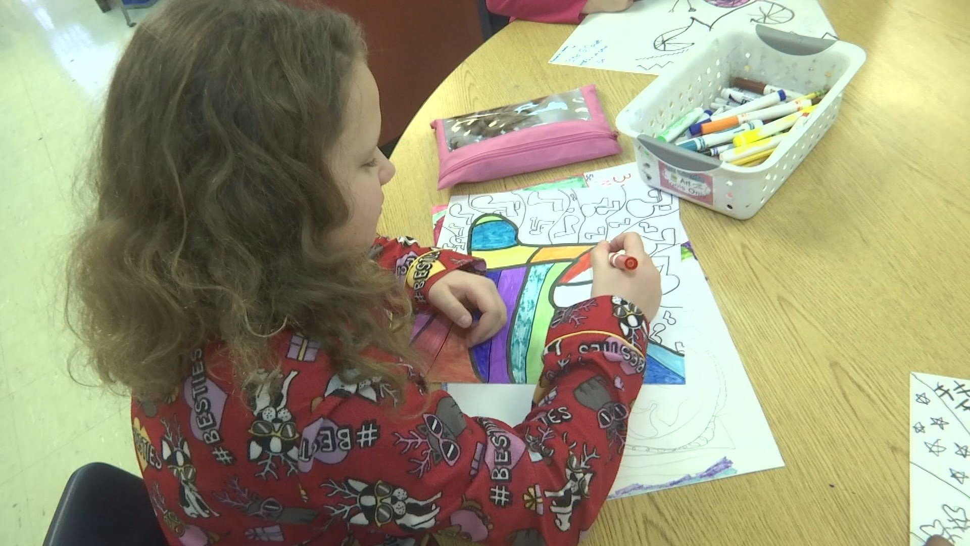 Elementary school receives grants to help with art for Craft stores columbia sc
